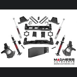 """Chevy Silverado 1500 4WD Suspension Lift Kit w/ Premium N3 Shocks & Lifted N2 Struts - 7.5"""" Lift"""